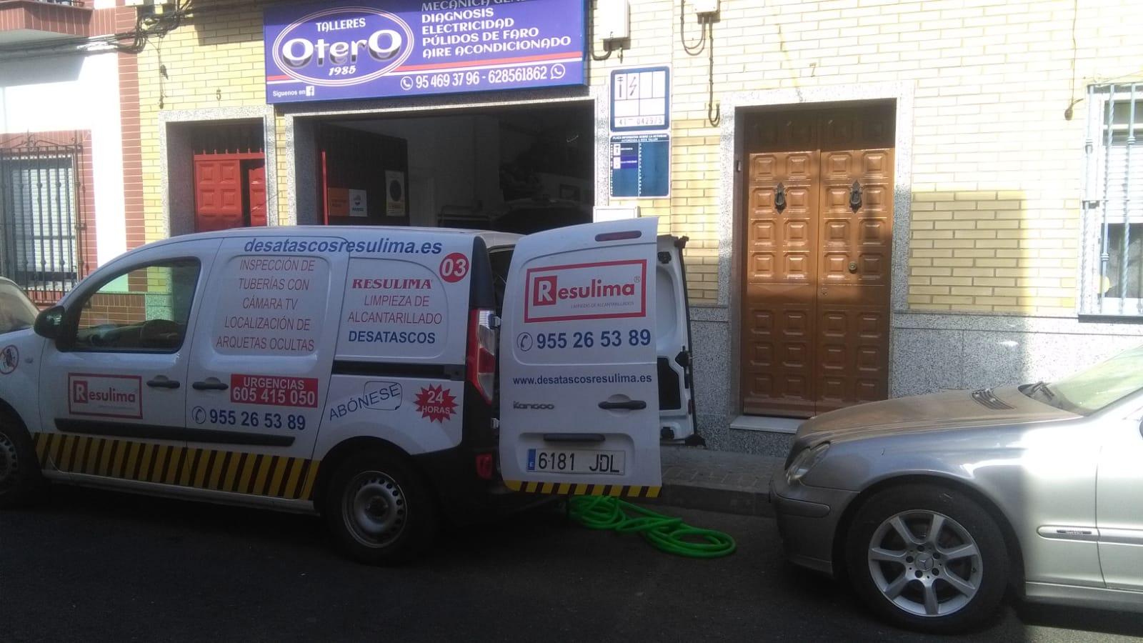 empresa desatascos urgentes Sevilla RESULIMA