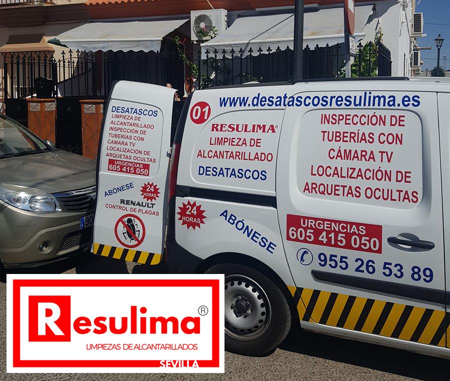 desatascos urgentes en Sevilla de tuberías